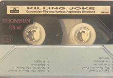 Load image into Gallery viewer, Killing Joke - Extremeties Dirt (Unofficial/As Is) Cassette
