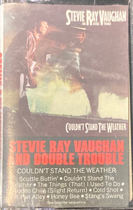 Stevie Ray Vaughan and Double Trouble - Couldn't Stand The Weather Cassette VG+