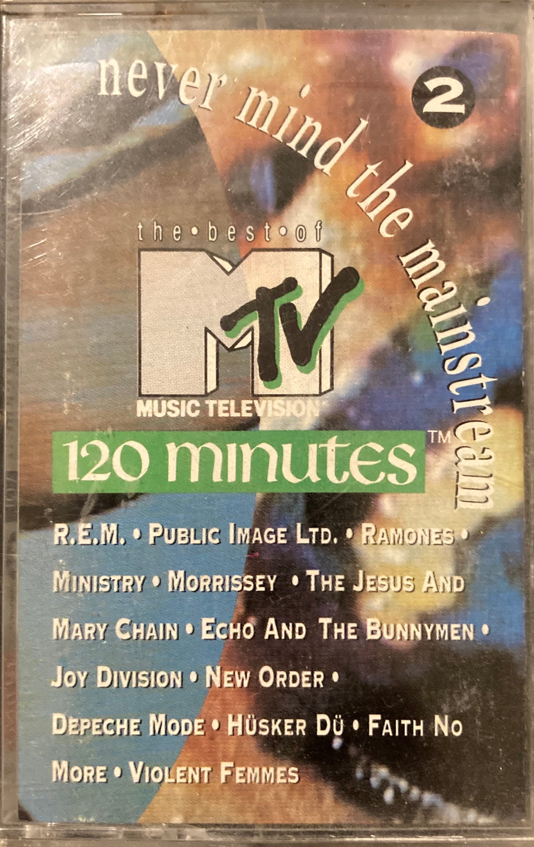 MTV 120 Minutes' Never Mind The Mainstream 2 Compilation Cassette VG