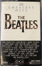 Load image into Gallery viewer, Beatles - 20 Greatest Hits Cassette VG+