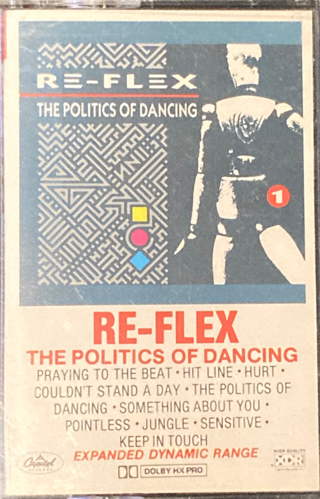 Re-Flex - The Politics Of Dancing Cassette VG
