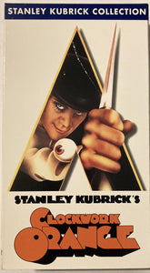 A Clockwork Orange (Kubrick) VHS