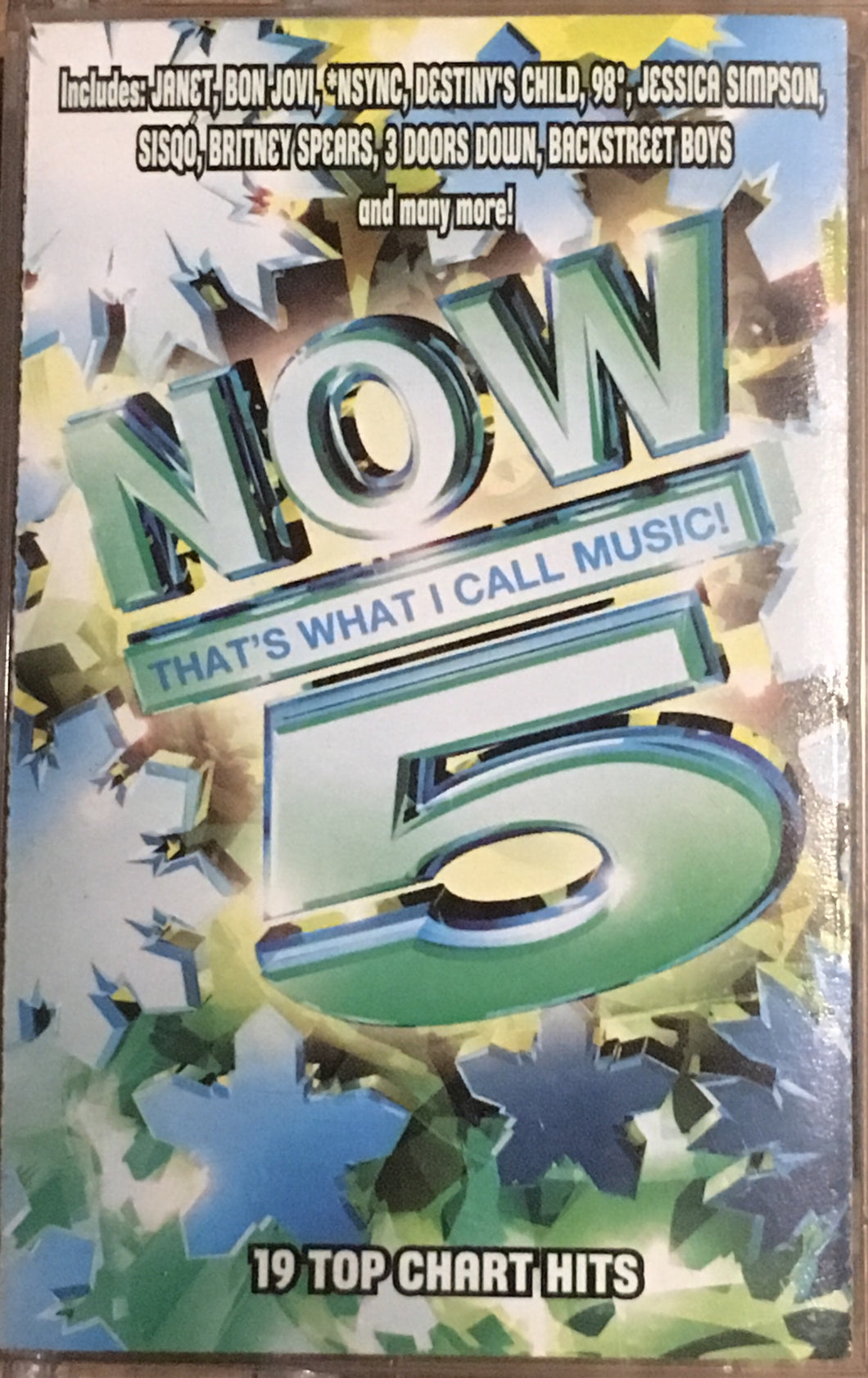 Now That's What I Call Music 5 Cassette 2000