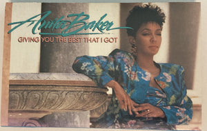 Anita Baker - Giving You The Best That I Got Cassette VG
