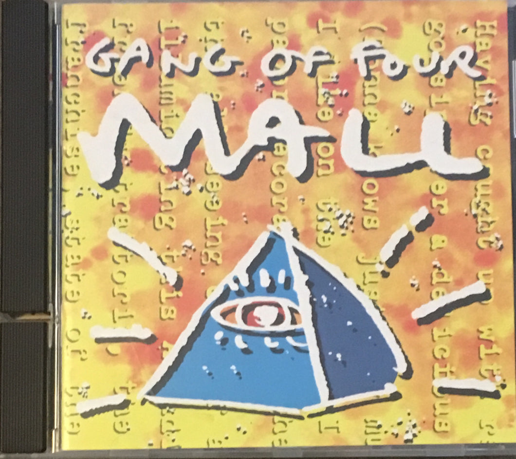 Gang Of Four Mall CD (cut spine)