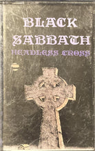 Load image into Gallery viewer, Black Sabbath - Headless Cross Cassette