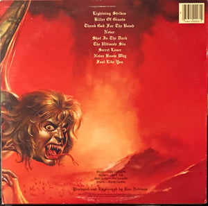 Ozzy - The Ultimate Sin Vinyl VG+