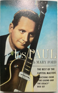 Les Paul with Mary Ford - Best Of Capitol Masters (RARE?)Cassette VG+
