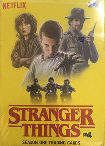 Stranger Things Trading Cards Sealed Box Season 1