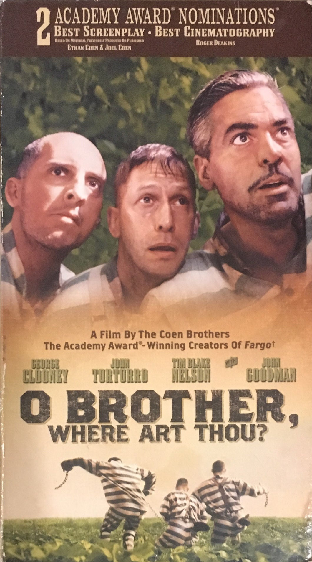 O Brother Where Art Thou VHS