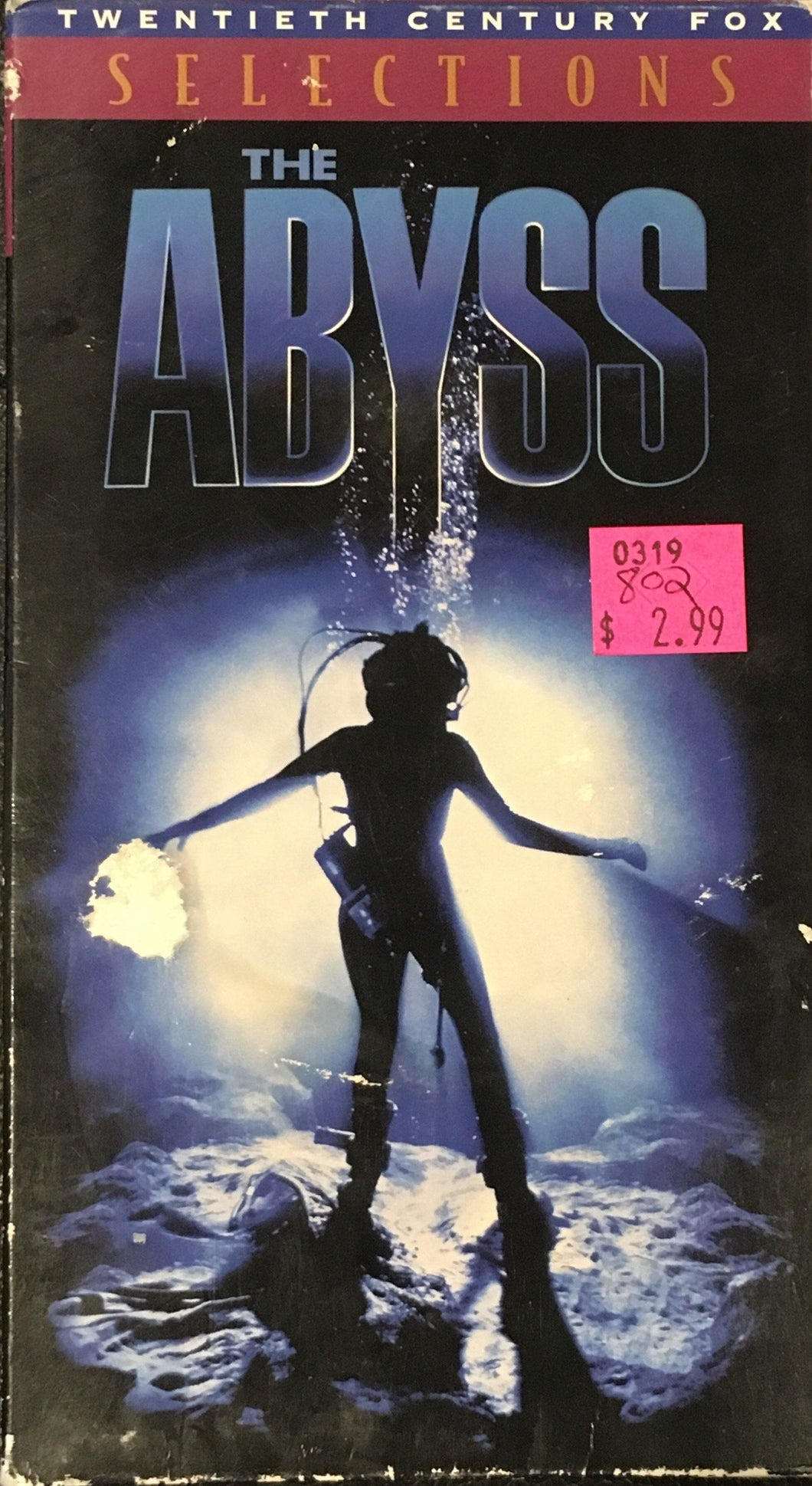 Abyss (The Abyss) (directed by James Cameron) VHS