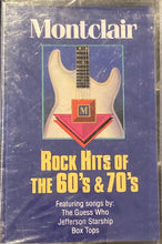 Load image into Gallery viewer, Montclair Rockin' Hits of the 60's and 70's (tracks in photo) Cassette