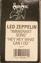 Load image into Gallery viewer, Led Zeppelin - Immigrant Song/ Hey Hey What Can I Do Cassingle