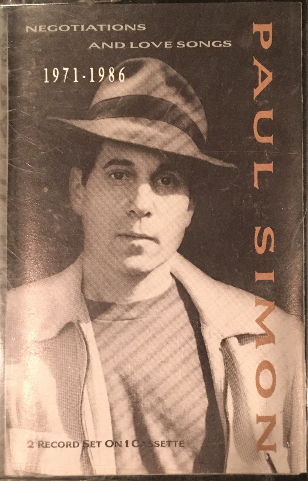 Paul Simon Negotiations and Love Songs 1971-1976 Cassette