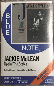 Jackie McLean Tippin' The Scales Blue Note Cassette