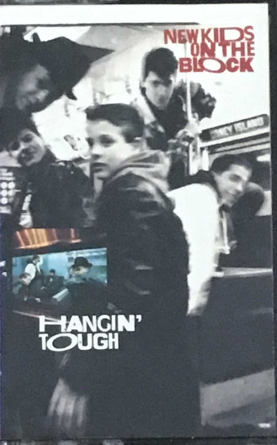 New Kids On The Block Hangin' Tough Cassette