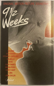 9 1/2 Weeks Soundtrack Cassette VG - 3rdfloortapes.com