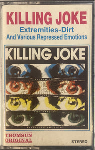 Killing Joke - Extremeties Dirt (Unofficial/As Is) Cassette