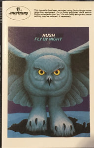Rush Fly By Night Cassette VG+