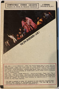 5th Dimension - Live!! (Snapcase Version!) Cassette Tape VG