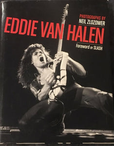 Eddie Van Halen in Photographs by Neil Zlozower Book