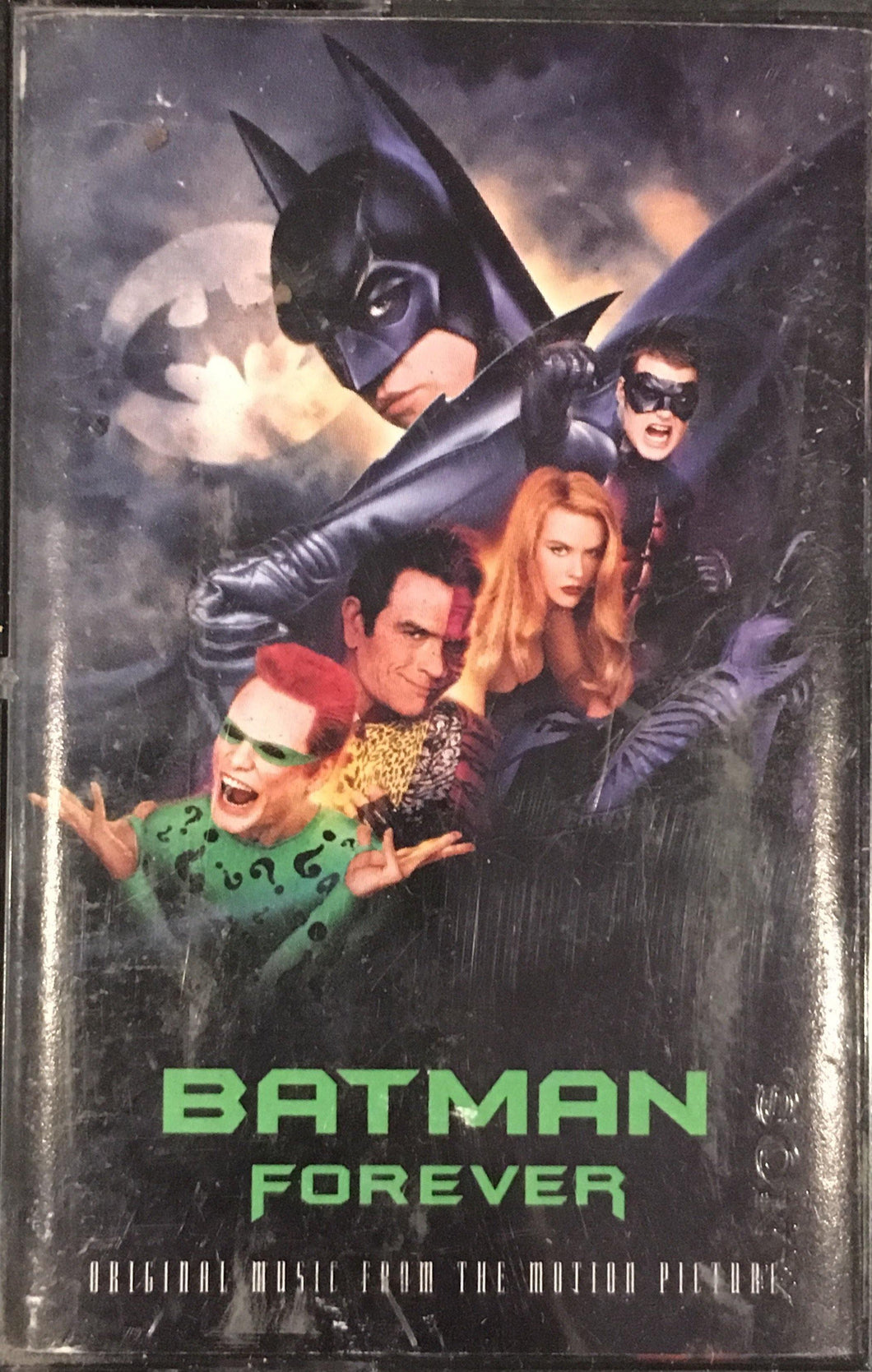 Batman Forever Soundtrack Cassette VG+