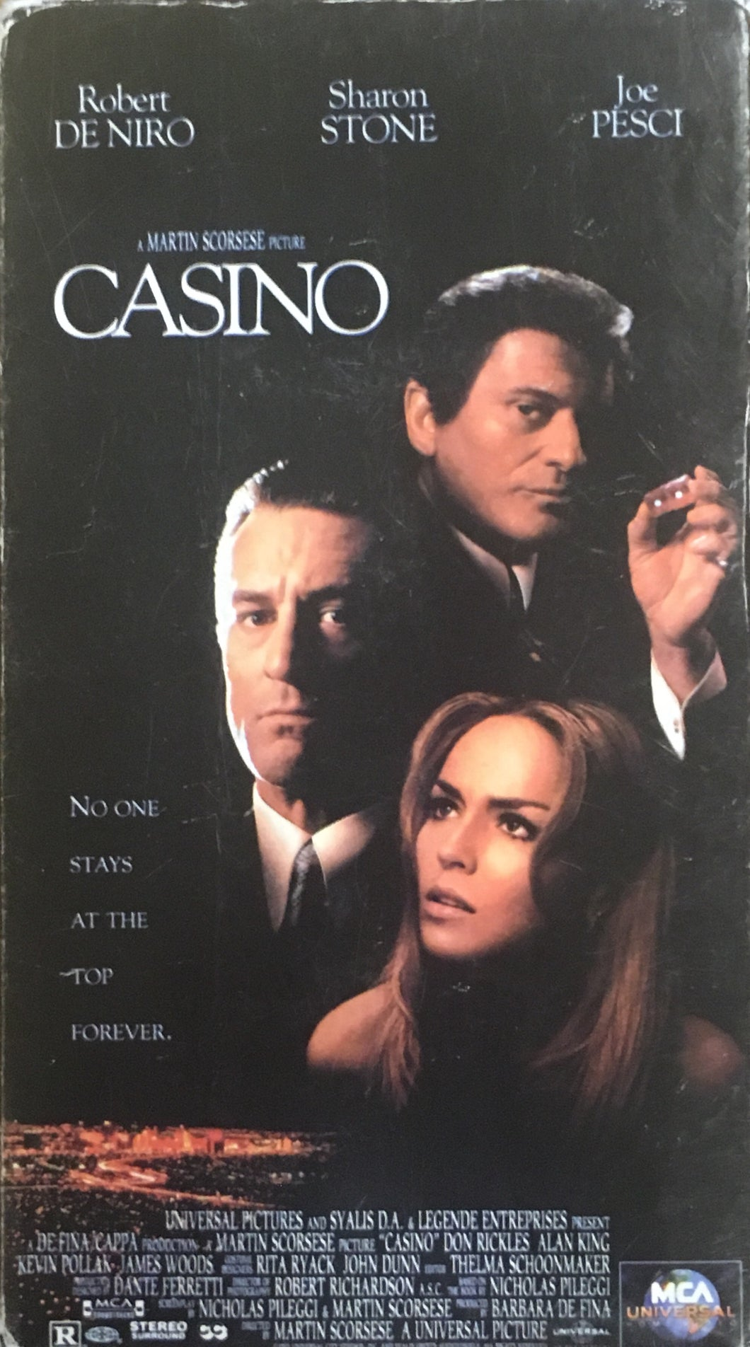 Casino VHS (2 tapes, counts as one item)