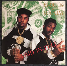 Load image into Gallery viewer, Eric B and Rakim Paid In Full Pink Label Reissue Vinyl VG+