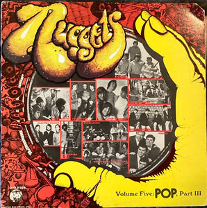 Nuggets Volume Five: Pop Part 3 Psychedelic Compilation Vinyl Good