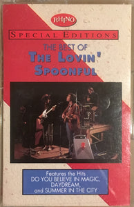 Lovin' Spoonful - Rhino Special Editions Best Of Cassette VG