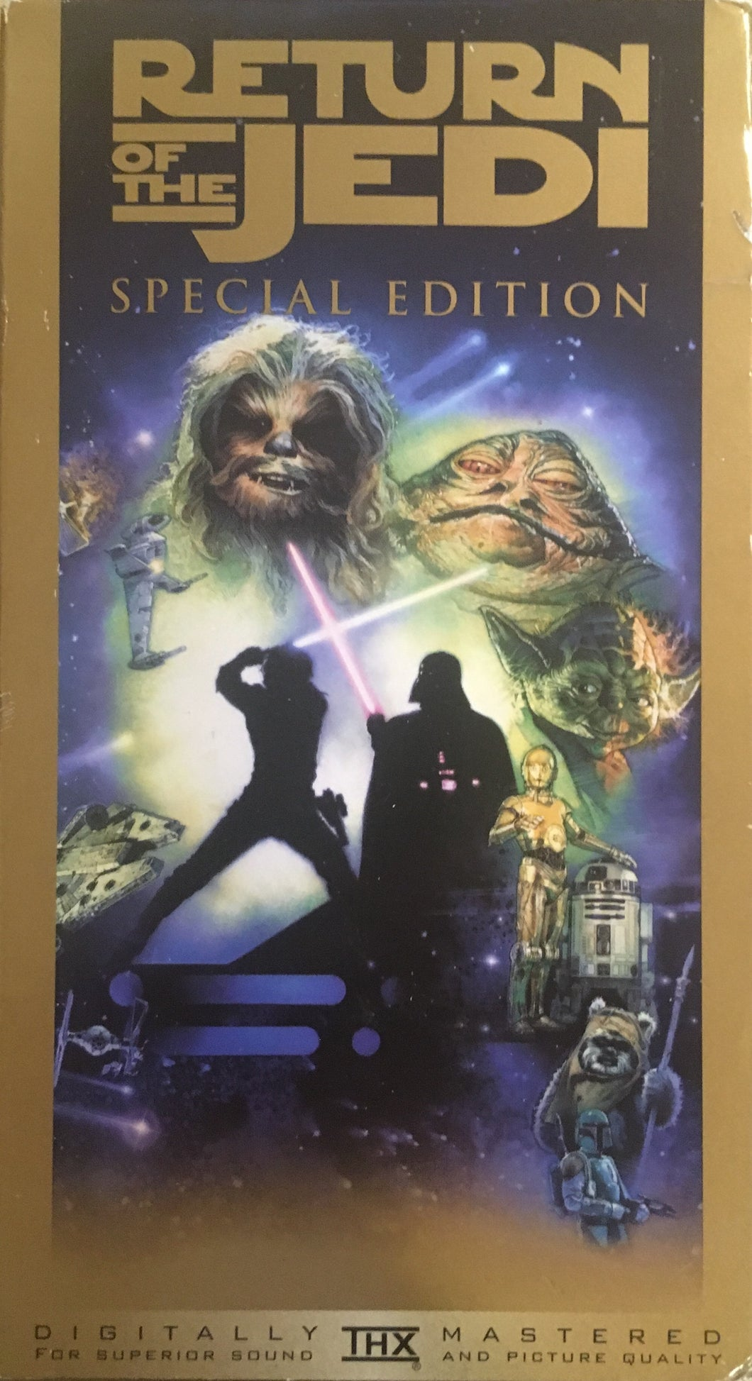 Return Of The Jedi Special Edition VHS