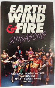 Earth Wind And Fire - Singasong Cassette VG