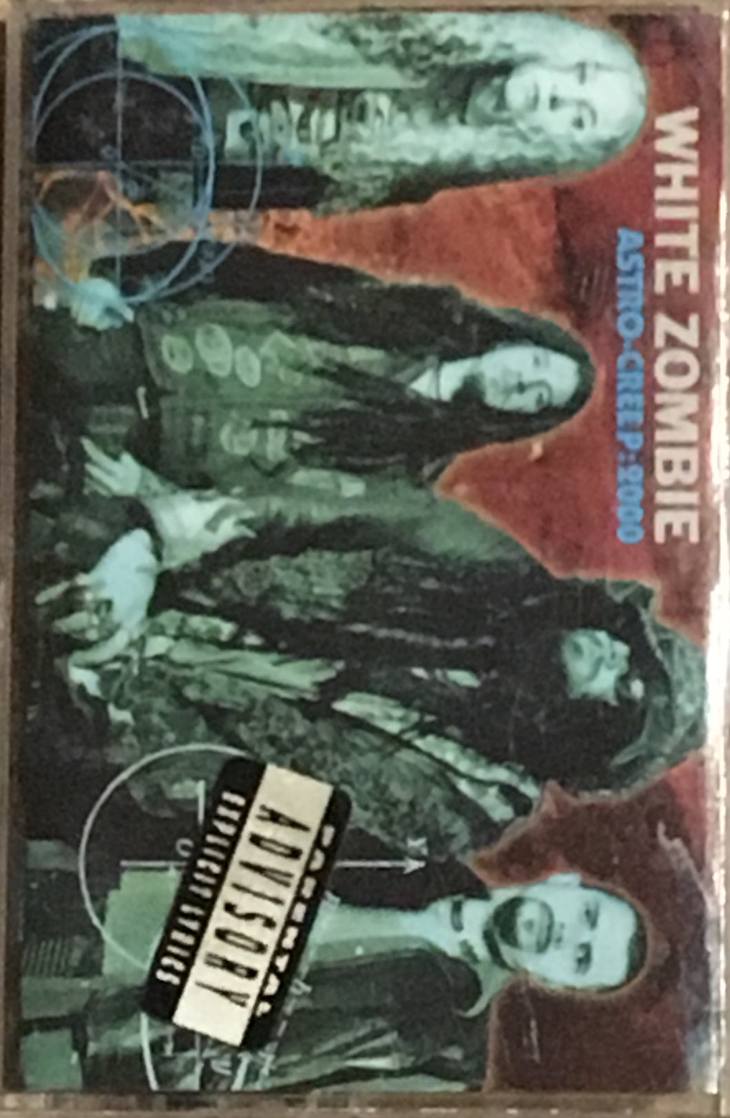 White Zombie Astro Creep 2000 Cassette