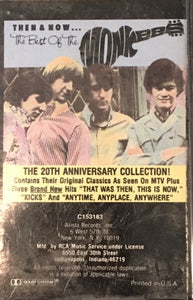 Monkees - Then And Now Best Of Cassette VG