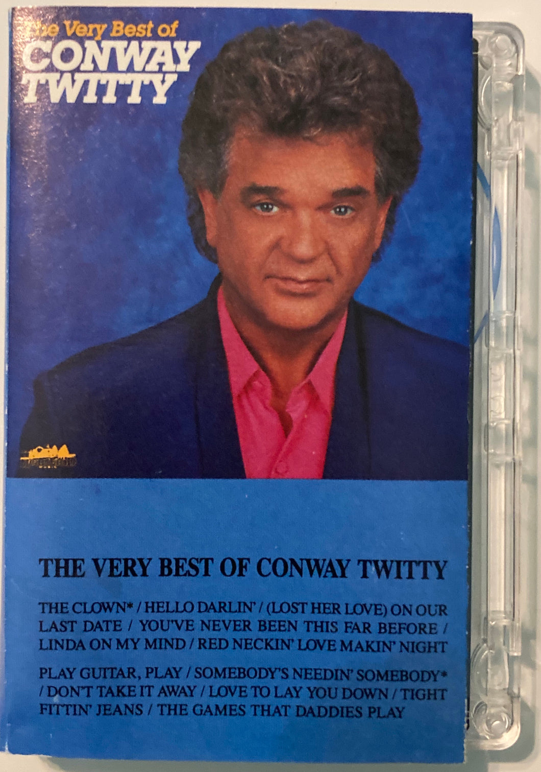 Conway Twitty - Very Best Of Cassette VG