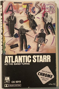Atlantic Starr - As The Band Turns Cassette VG