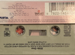 Whitney Houston - You Are Loved Cassette VG