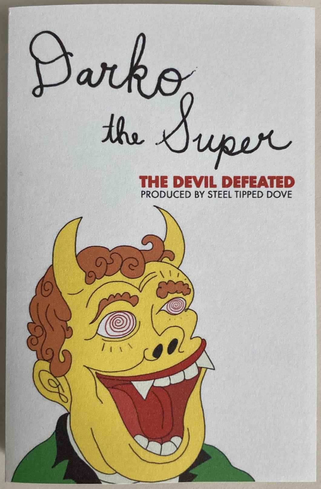 Darko The Super - The Devil Defeated (Already Dead Tapes)Cassette New/mint