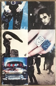 U2 Achtung Baby Chrome Cassette VG