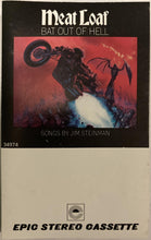 Load image into Gallery viewer, Meat Loaf - Bat Out Of Hell CASSETTE TAPE VG+ - 3rdfloortapes.com