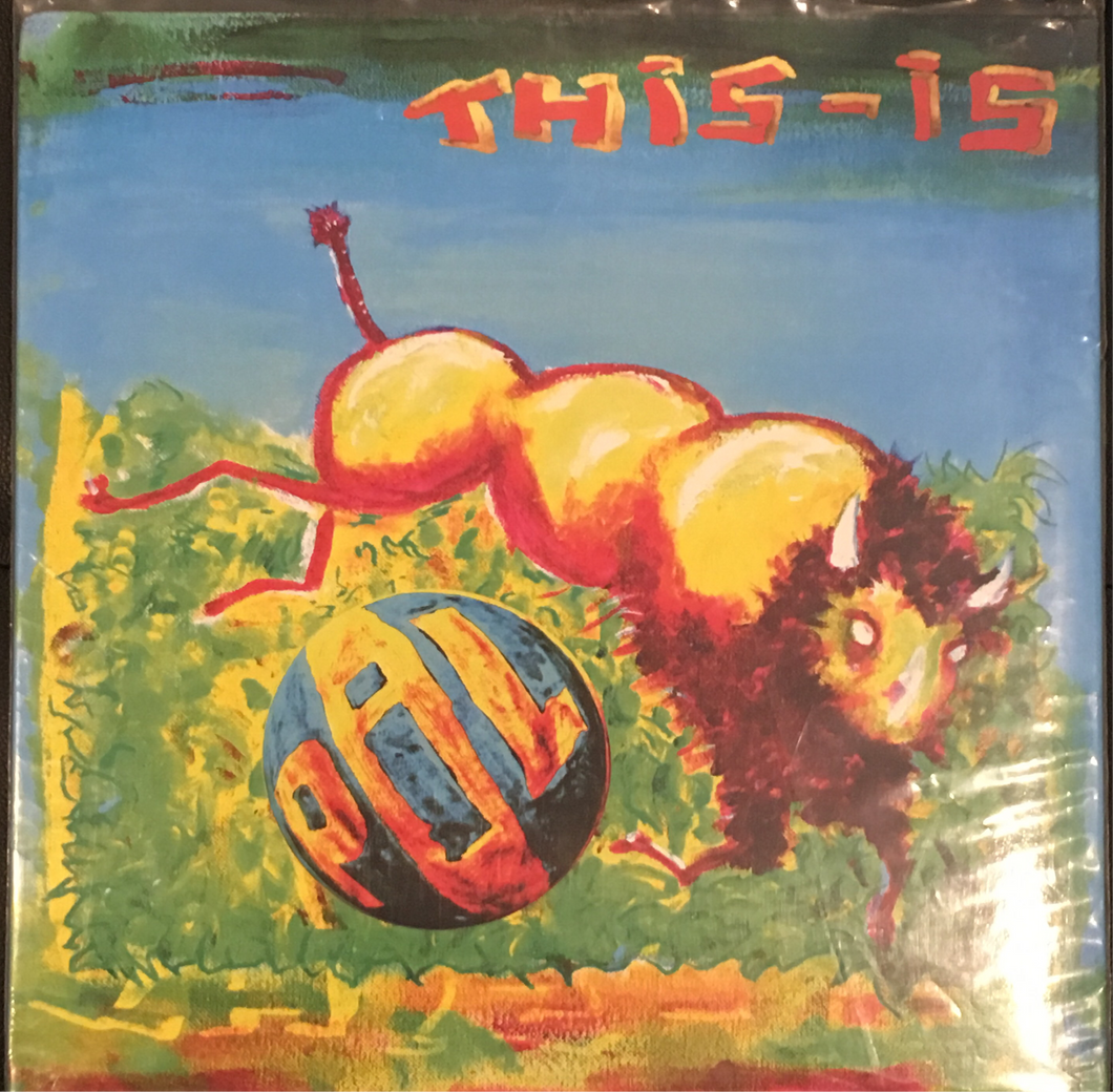 Public Image Limited PIL This Is PIL vinyl VG+
