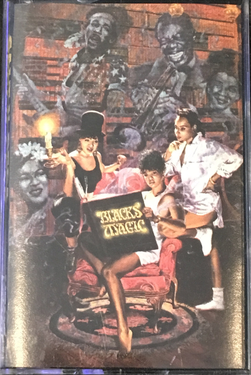 Salt N Pepa - Blacks' Magic Cassette VG