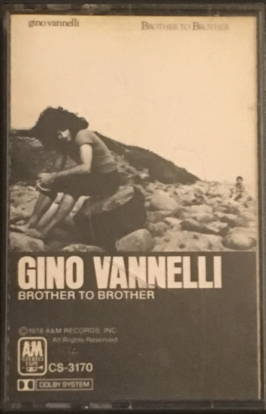 Gino Vannelli Brother To Brother Cassette