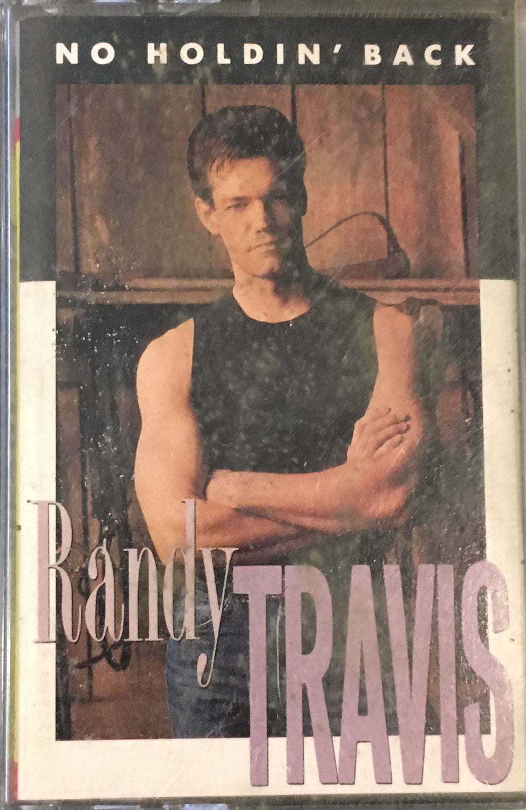Randy Travis No Holdin' Back Cassette