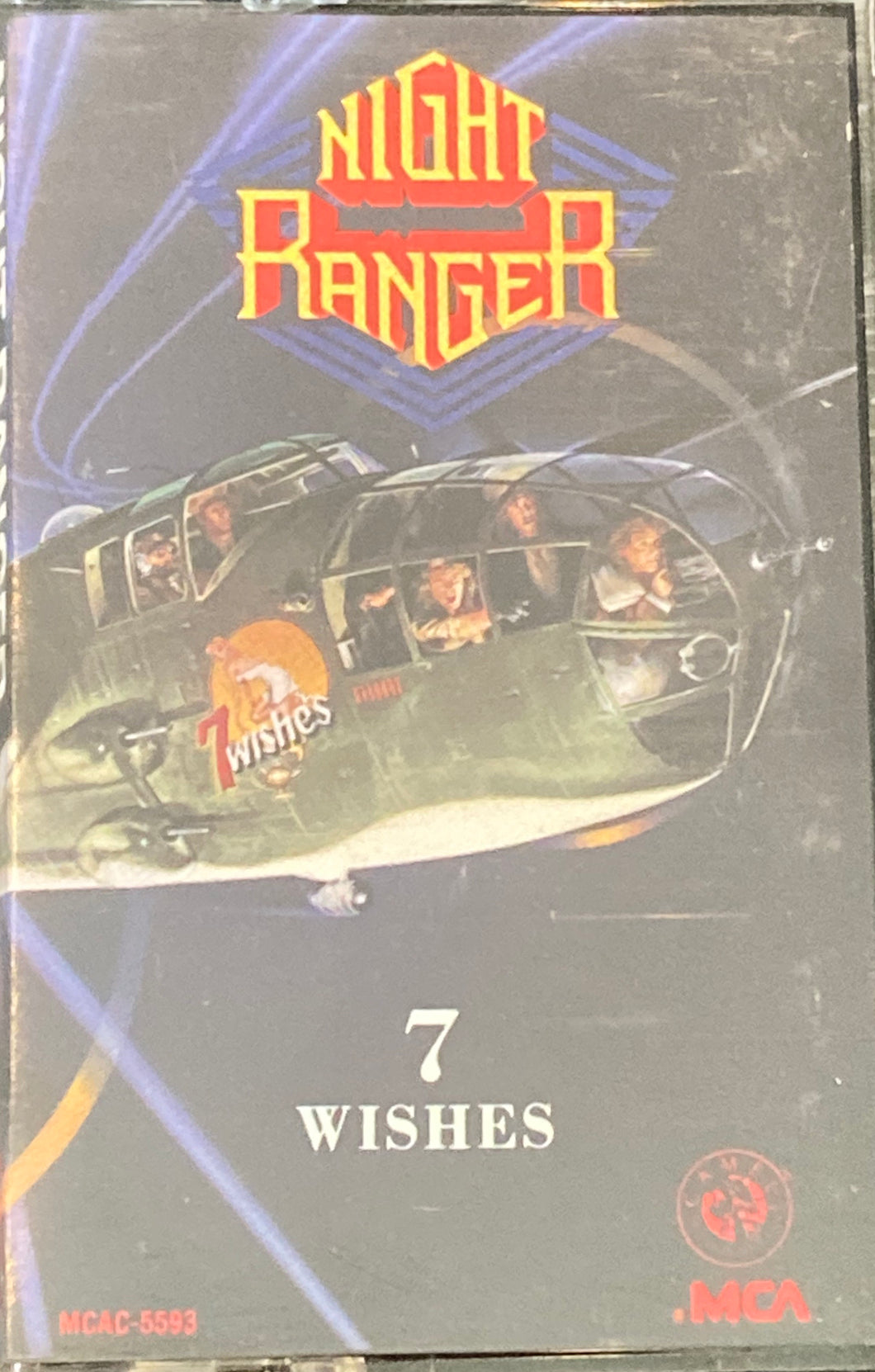 Night Ranger - 7 Wishes Cassette VG