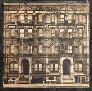 Led Zeppelin Physical Graffiti Used Vintage Vinyl Good Condition