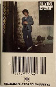 Billy Joel - 52nd Street CASSETTE TAPE VG - 3rdfloortapes.com