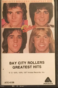 Bay City Rollers Greatest Hits Cassette VG