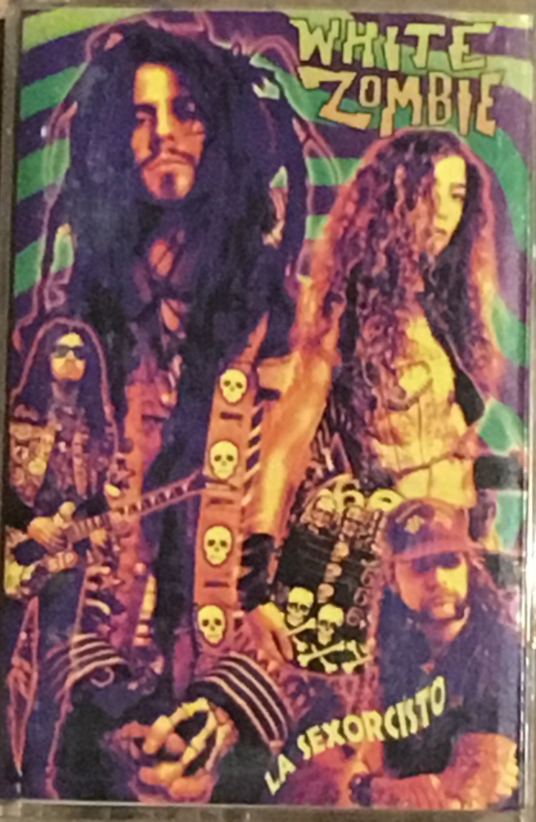 White Zombie La Sexorcisto devil music vol 1 cassette