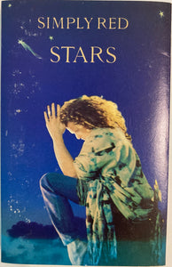 Simply Red - Stars Cassette VG (some card wear)